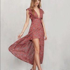 "Reformation ""Charlene"" dress in Camille"